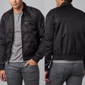 Members Only Black Racer Jacket